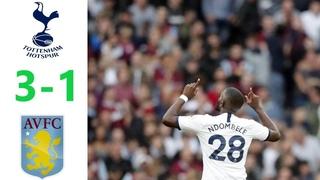 Tottenham vs Aston Villa 3-1 Highlights/ All Goals - EPL (10/8/2019)