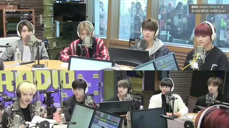 190327 Stray Kids на MBC FM4U Ji Sukjin's 2 O'Clock Date.