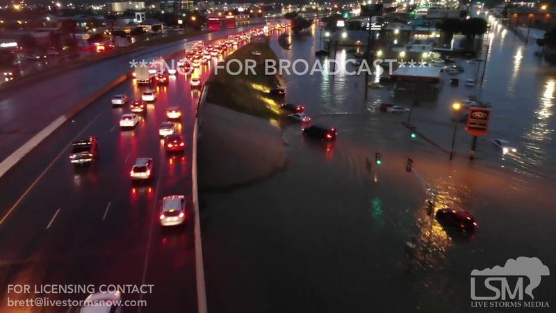 06-01-2019 Amarillo, TX - Package - Good Samaritan Pulling stuck cars from flooding - SOT