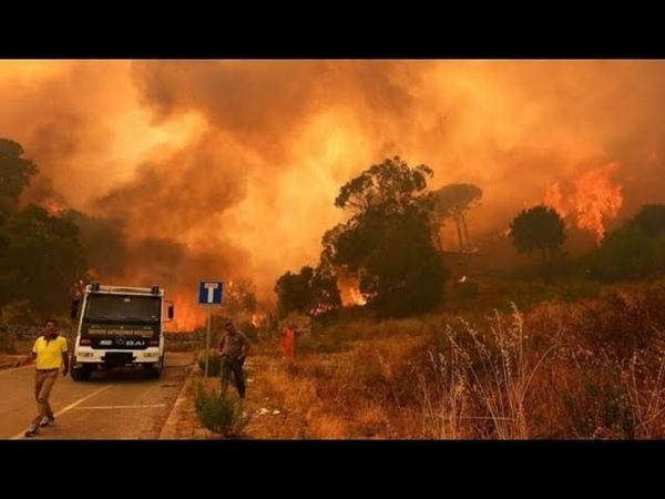 На Сицилии задержана бригада пожарных-поджигателей