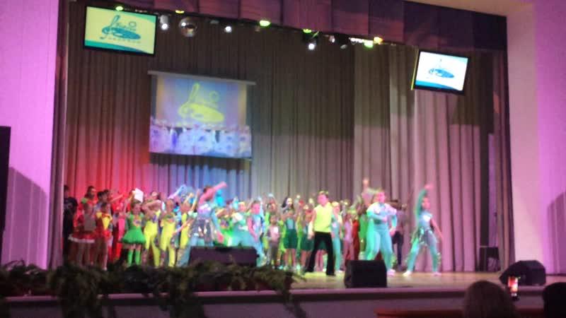 Открытие финального концерта международного конкурса Берега Надежды