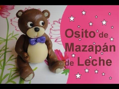 Osito de Mazapán de Leche - La Plastilina Comestible │Club de Reposteria