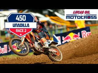 10 этап. unadilla 450mx moto 2 lucas oil motocross 2019