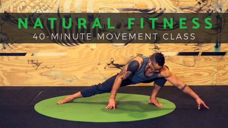 *LOVE YOGA? TRY PRIMAL* NATURAL MOVEMENT Workout for Mobility Core (Follow Along, No Equipment)