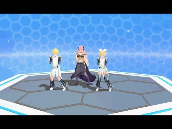 [MMD] Drop it dance - (Len,Luka,Rin)