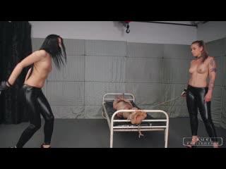 Cruel punishments mistress anette & mistress kittina crazy brutal punishments (full version) femdom