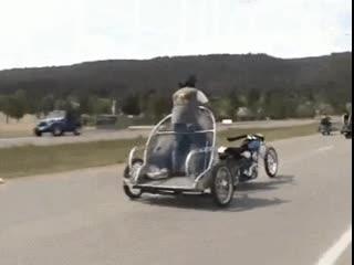 Quand on aime la moto et quon ne sait pas en faire