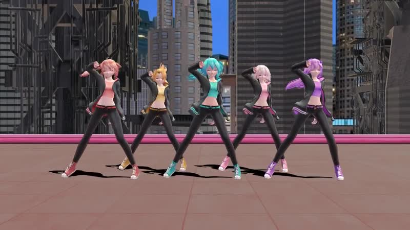MMD Papaoutai models motions stages DL