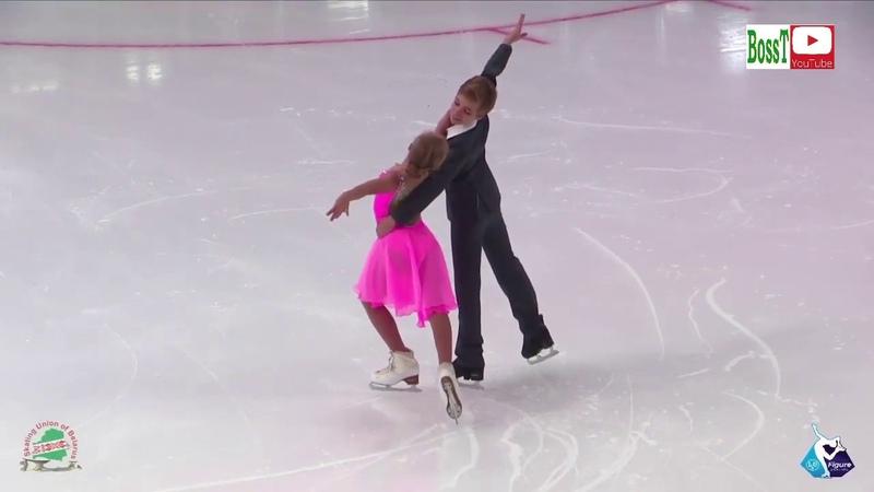 Evelina POKRASNETJEVA Ilya MAKAROV - PD, Ice Star 2019 Minsk