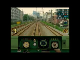 THE Train Simulator Real The Yamanote Line [PS2] FULL