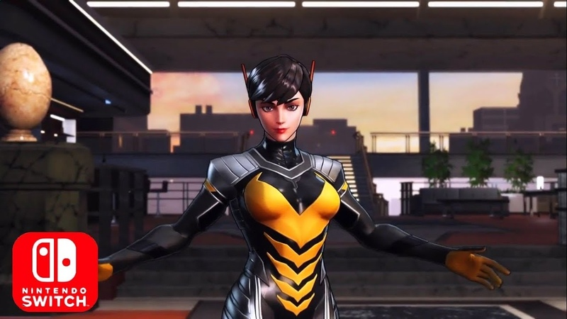Marvel Ultimate Alliance 3 The Black Order Wasp Trailer Nintendo Switch HD