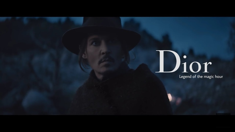 Johnny Depp in Dior's Legend of magic hour short film. (Sauvage Campaign 2018)