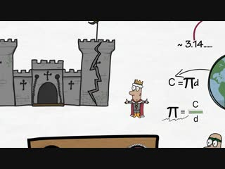 Число Пи  здесь! Объяснение - просто и наглядно. #математика@contrastvlg