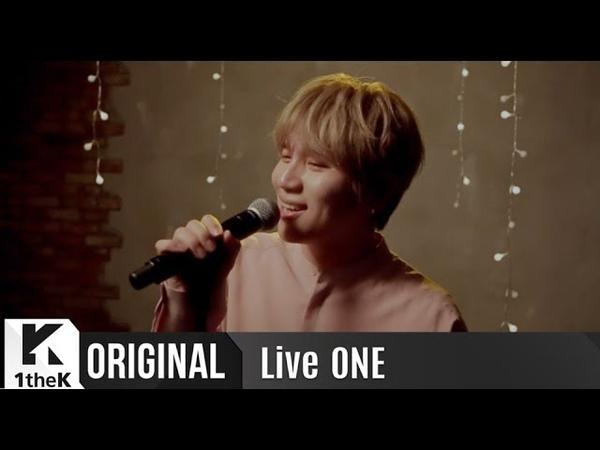 LiveONE(라이브원): K.will(케이윌) _ My Star(너란 별)