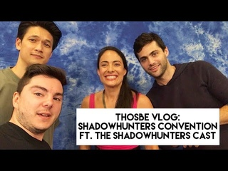 Интервью: THOSBE VLOG: SHADOWHUNTERS CONVENTION ft. The Shadowhunters Cast [Брюссель]