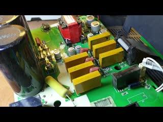 КИПлаб ремонт Китайского частотного преобразователя с Алиэкспресс 4 кВт/220 В (24 А)