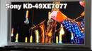 4K телевизор Sony KD-49XE7077 - обманчивые ожидания.