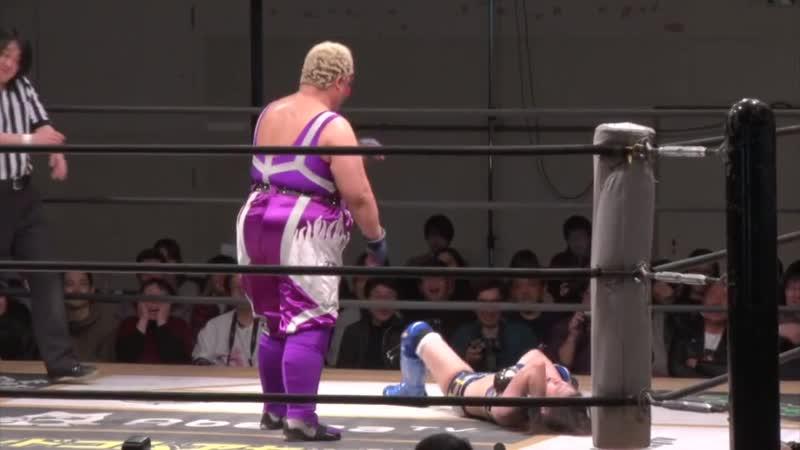 Aja Kong Shoko Nakajima vs Hikari Noa Mika Iwata TJPW The Sparkling Girl Will Fly To Hakata