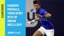 Highlights Djokovic Beats Tomic In Miami 2019 Opener
