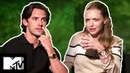 Amanda Seyfried Milo Ventimiglia On Awkward Kissing Scenes | The Art of Racing in the Rain