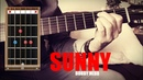 Sunny - Bobby Hebb - Acoustic guitar lesson - chords fingerstyle