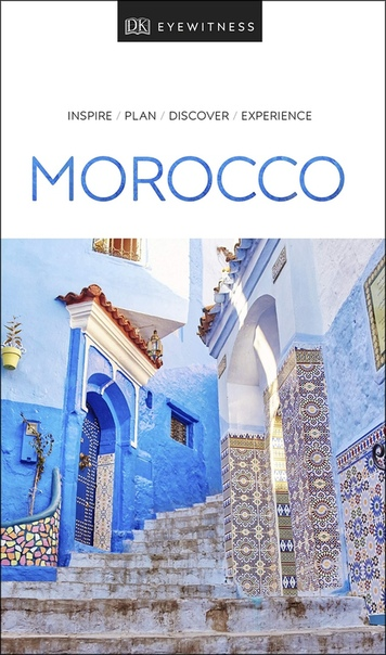Book cover DK Eyewitness Travel Guide Morocco, 2019 Edition