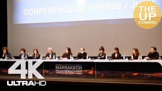 Jury press conference in Marrakech: Dakota Johnson, Daniel Bruhl, James Gray, Lynne Ramsay, Franco