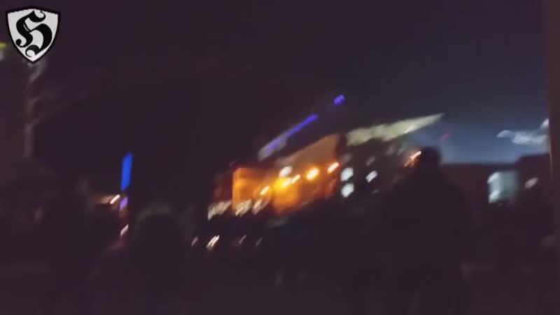Hooligans Fight Sheriff Tiraspol vs Zimbru Chișinău