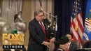 AG Barr plays bagpipes speaks at US Attorneys' Natl Conference