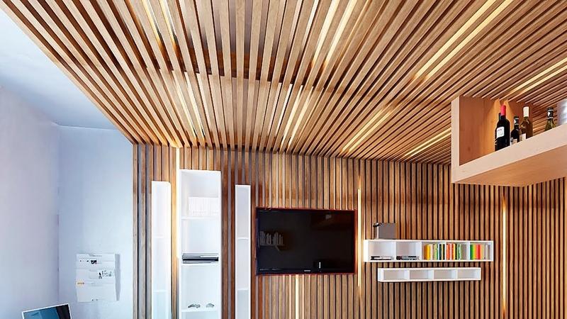 💗 Деревянный потолок в доме и квартире – реечный, дощатый, кессонный, декоративный… Идеи отделки