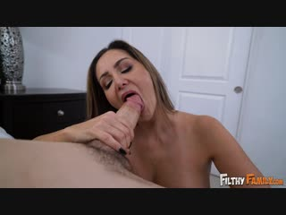 Ava addams (stepmom fucks away his virginity) [incest, family, mom and son]