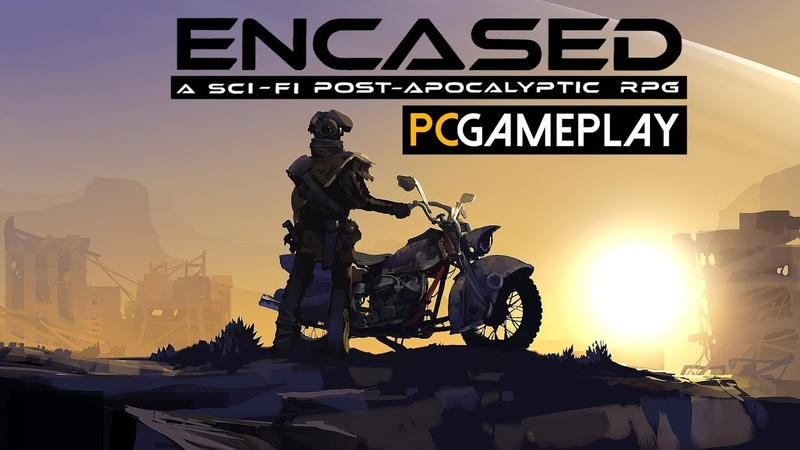 Encased: A Sci-Fi Post-Apocalyptic RPG Gameplay (PC HD)