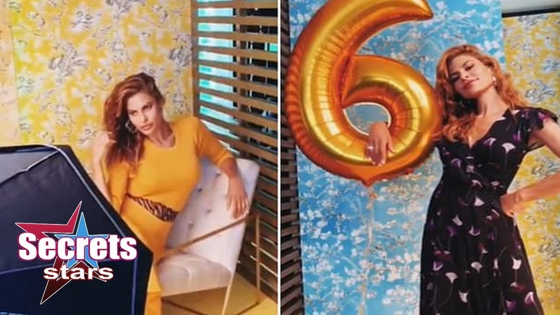 Eva Mendes stuns at photoshoot for her fashion collection l Secrets stars
