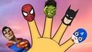 Finger Family Superheros Kids Songs and Nursery Rhymes by Miss Lana