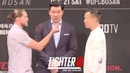 "BRIAN ORTEGA VS. ""KOREAN ZOMBIE"" CHAN SUNG JUNG FIRST FACEOFF FOR UFC FIGHT NIGHT 165: BUSAN!"