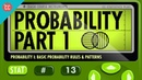 13 Probability Part 1 Rules and Patterns Crash Course Statistics