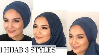 1 Hijab 3 Styles I Turban-Hijab Styles