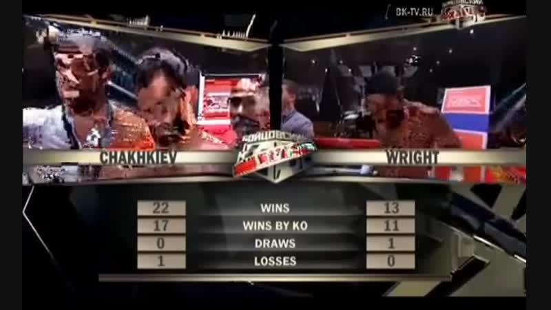 Рахим Чахкиев vs Джуниор Энтони Райт полный бой 22 05 2015