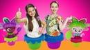 Видео для детей. Распаковка! Набор для выращивания цветов ЦВЕТУЛИ. Расти, наблюдай, в куклы играй!