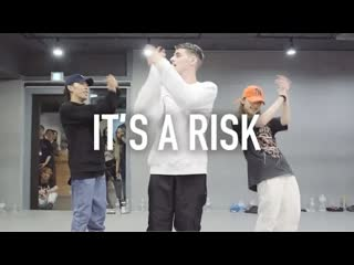 1million dance studio anthony russo - it`s a risk ⁄ koosung jung choreography with anthony russo