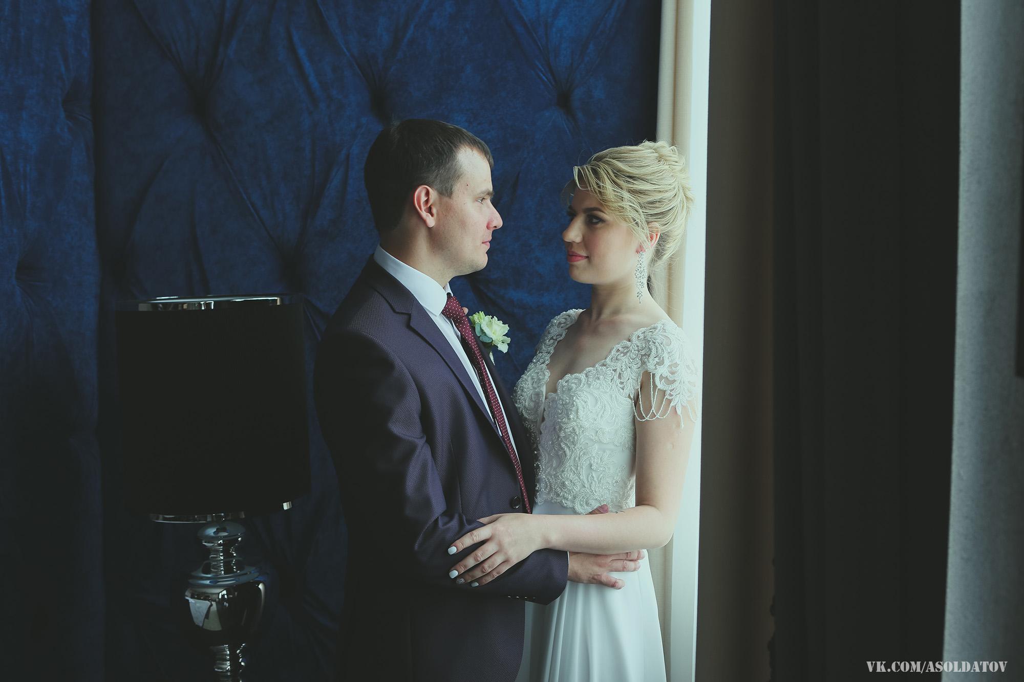 Свадебная фотосессия в отеле Держава. Пенза.