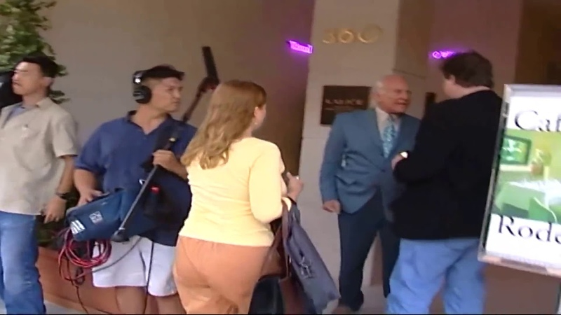 Buzz Aldrin Punches Moon Landing Denier Nutcase In The Face