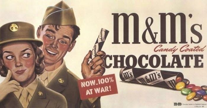 Название M&M'S расшифровывается, как Марс и Мьюрри, именно так звучали фамилии д...