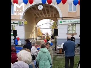 Торжественное открытие часов во Владимире