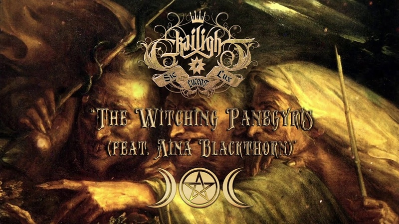 GRAILIGHT - The Witching Panegyris feat. Aina Blackthorn (Official lyric video)