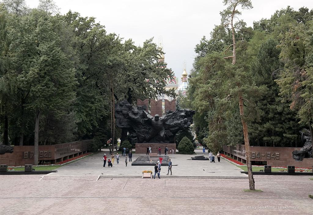 Вечный огонь в Алматы, Парк 28 панфиловцев 2019