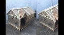 CASA para PERRO de PALLETS DIY PALLET DOG HOUSE