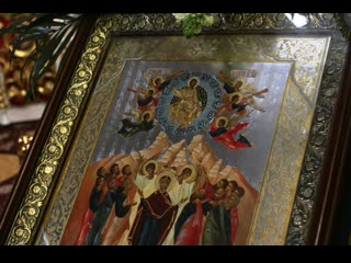 В Курске православные христиане отпраздновали Вознесение Господне