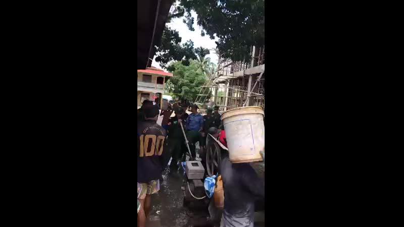 က်ဳိကၡမီ ဘုရား ၃ ထပ္တည္းခိုေဆာင္ ေဆာက္လုပ္ေနမႈ သံျဖဴဇရပ္တပ္နယ္ တပ္မေတာ္သားမ်ား လ mp4