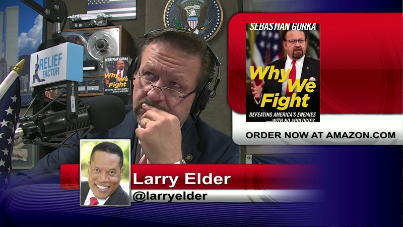 No one's seen black support for a Republican President like this Larry Elder with Sebastian Gorka